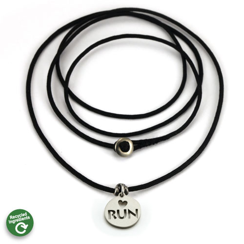 Love to Run Charm necklace