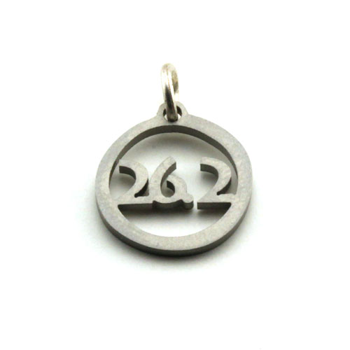 26.2 Stainless Steel Charm