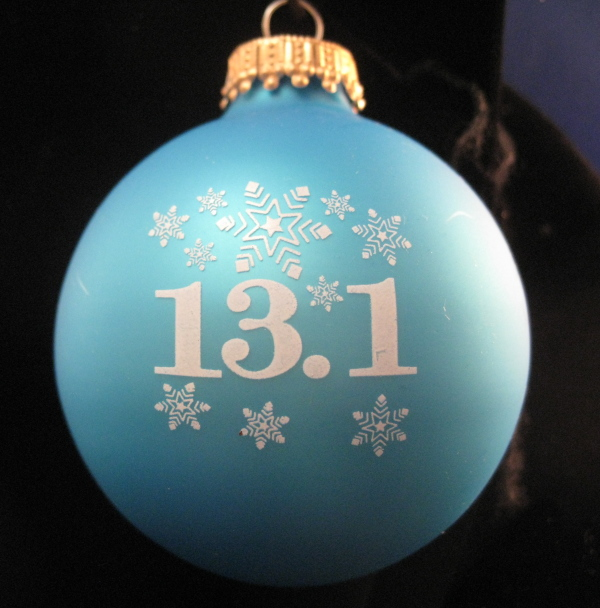13.1 with Snowflakes ornament