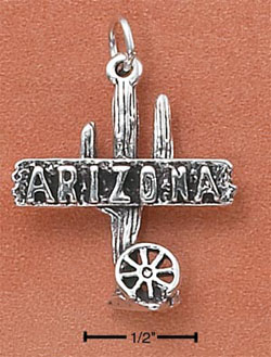 """ARIZONA"" WITH CACTUS CHARM"