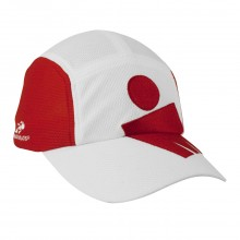 Headsweats Red/White IRONMAN� Mdot Race Hat
