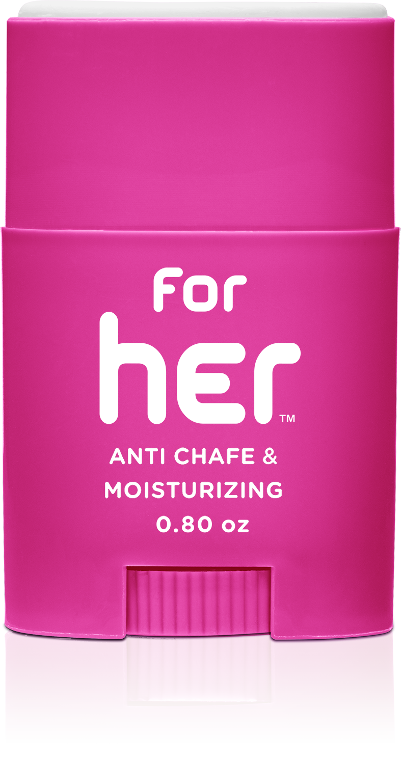 Body Glide - For Her: Anti chafing, moisturizing balm 0.8oz