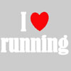 I ♥ running Static Cling