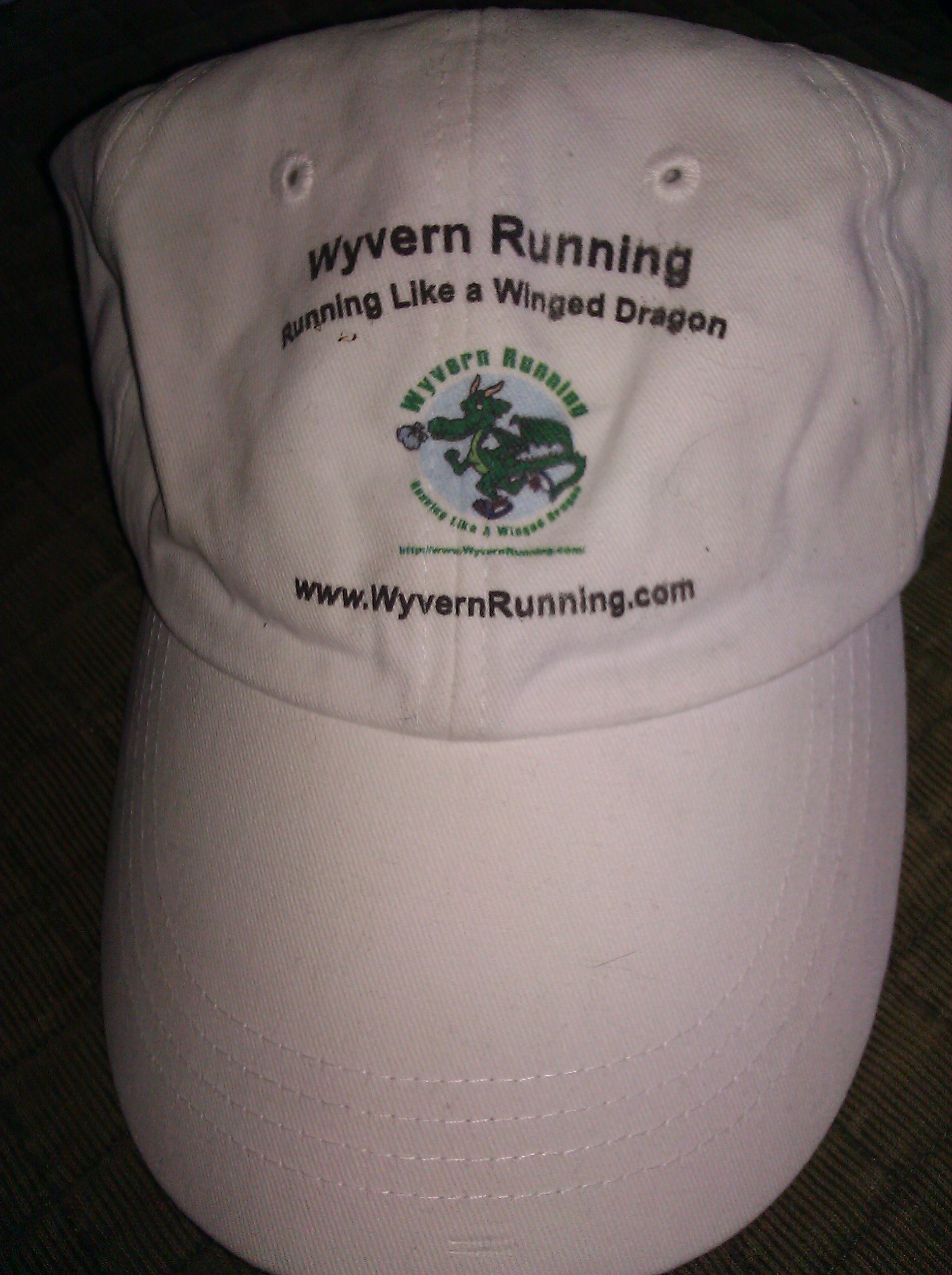 Wyvern Running Logo Cotton CAP