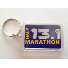 13.1 Half Marathon Key RIng