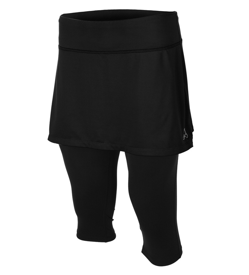 Skirt Sports Lotta Breeze Capris w/Running Skirt