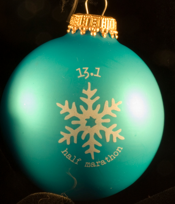 13.1 Half Marathon Ornament