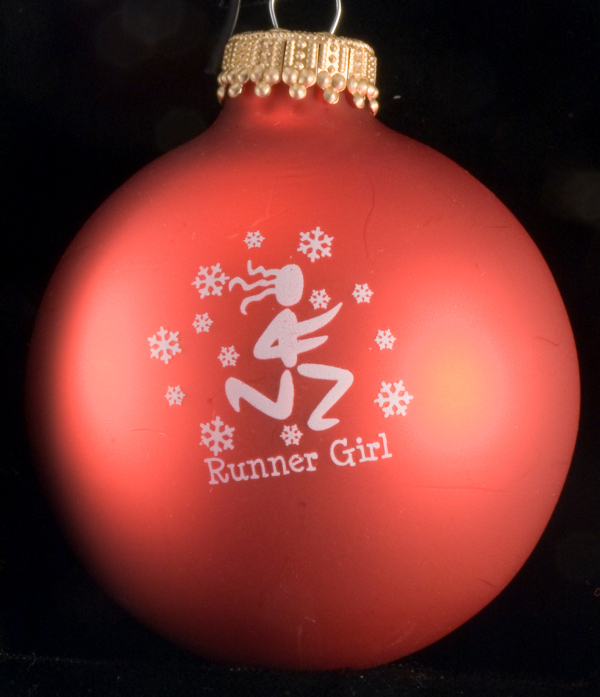 Runner Christmas Ornament
