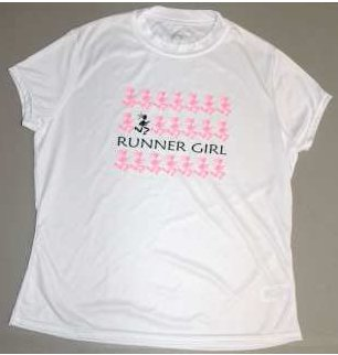 Runner Girls Microfiber Tee