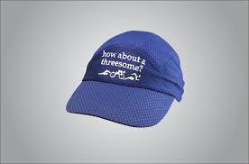 How about a threesome? Marathon Cap