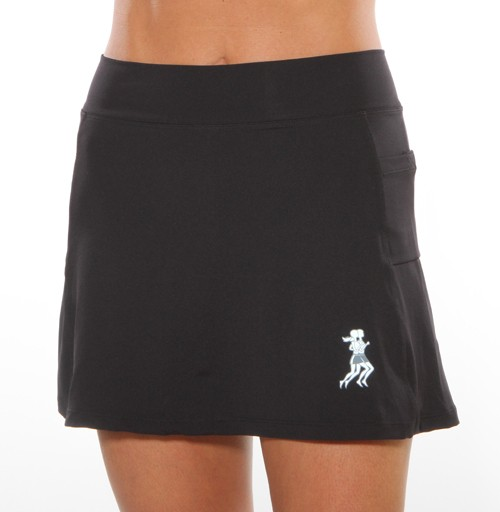 Ultra Swift athletic skirt (black)