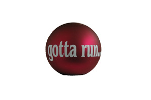 gotta run... Christmas Ornament
