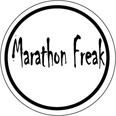 Marathon Freak Round Sticker