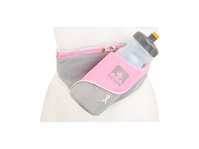 Nathan Pink Ribbon Triangle Hydration Belt