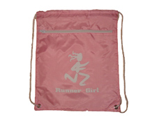 Runner Girl Sack Pack Pink