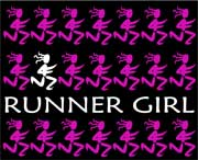 Runner Girl Mouse Pad