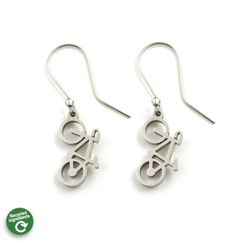 Road Bike Earrings