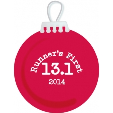 13.1 Runners 1st Half Marathon Ornament ON SALE!!!