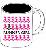 Runner Girls Ceramic Mug