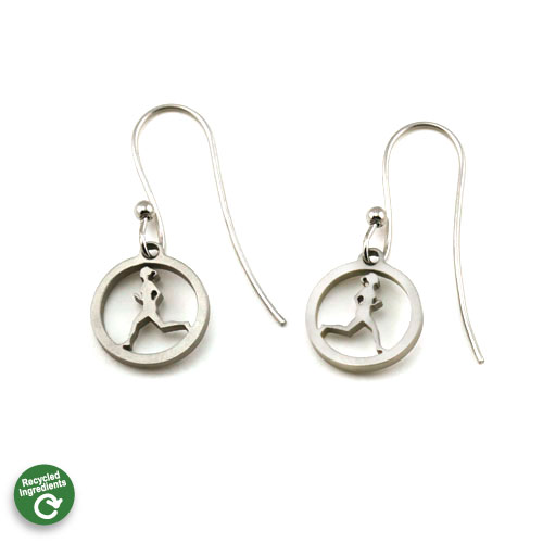 Running Gal Earrings