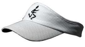 Runner Dude Mesh Visor (White) - Click Image to Close