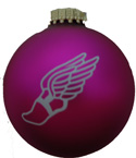 Winged Foot Christmas Ornament