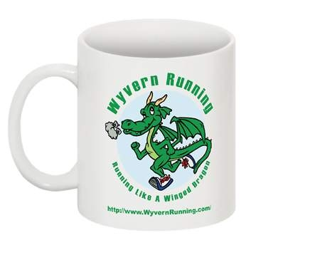 Wyvern Running Ceramic coffee Mug
