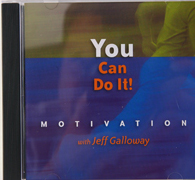 You Can Do It Motivational CD